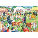 Puzzle  The-House-of-Puzzles-2735 XXL Pieces - County Show