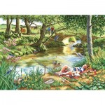 Puzzle  The-House-of-Puzzles-2742 XXL Pieces - Gone Fishing