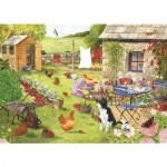 Puzzle  The-House-of-Puzzles-2759 XXL Pieces - Grandma's Garden