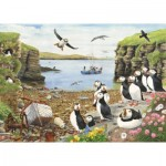 Puzzle  The-House-of-Puzzles-2766 XXL Pieces - Puffin Parade