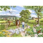 Puzzle  The-House-of-Puzzles-3022 XXL Pieces - Goosey Gander