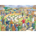 Puzzle  The-House-of-Puzzles-3039 XXL Pieces - Sheep Sale