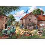 Puzzle  The-House-of-Puzzles-3084 XXL Pieces - Farmers Wife