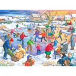 Puzzle  The-House-of-Puzzles-3091 XXL Pieces - Ice Skating