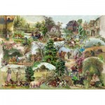 Puzzle  The-House-of-Puzzles-3107 XXL Pieces - Pastoral