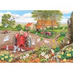 Puzzle  The-House-of-Puzzles-3114 XXL Pieces - Red Harrows