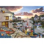 Puzzle  The-House-of-Puzzles-3428 XXL Pieces - Harbour Lights