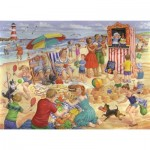 Puzzle  The-House-of-Puzzles-3459 XXL Pieces - Trip To The Seaside