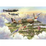 Puzzle  The-House-of-Puzzles-3510 XXL Pieces - Final Approach