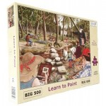 Puzzle  The-House-of-Puzzles-3527 XXL Pieces - Learn To Paint