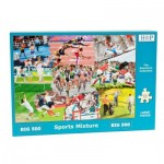 Puzzle  The-House-of-Puzzles-3916 XXL Pieces - Sports Mixture