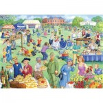 Puzzle  The-House-of-Puzzles-3930 XXL Pieces - Summer Fete