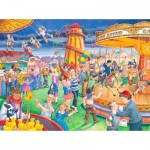 Puzzle  The-House-of-Puzzles-4111 XXL Pieces - Fairground Rides