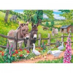 Puzzle  The-House-of-Puzzles-4128 XXL Pieces - Jack & Jenny