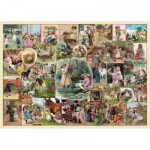 Puzzle  The-House-of-Puzzles-4142 XXL Pieces - Playtime Pursuits