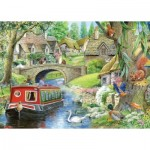 Puzzle  The-House-of-Puzzles-4159 XX Pieces - Take it Easy