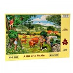 Puzzle  The-House-of-Puzzles-4319 XXL Pieces - A Bit Of A Pickle