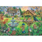 Puzzle  The-House-of-Puzzles-4333 XXL Pieces - Bird Table