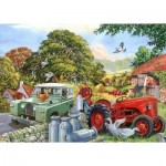 Puzzle  The-House-of-Puzzles-4340 XXL Pieces - Bob & His Dog