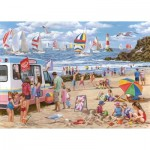 Puzzle  The-House-of-Puzzles-4364 XXL Pieces - Regatta Day