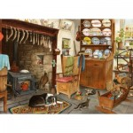 Puzzle  The-House-of-Puzzles-4517 XXL Pieces - Fisherman's Cottage