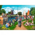 Puzzle  The-House-of-Puzzles-4524 XXL Pieces - Happy Days