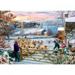 Puzzle  The-House-of-Puzzles-4531 XXL Pieces - Herding The Flock