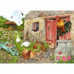 Puzzle  The-House-of-Puzzles-4555 XXL Pieces - Ruling The Roost