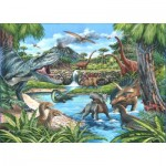 Puzzle  The-House-of-Puzzles-4722 XXL Pieces - Dinosaurs