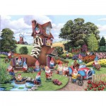 Puzzle  The-House-of-Puzzles-4746 XXL Pieces - Gnome & Away