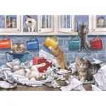 Puzzle  The-House-of-Puzzles-4784 XXL Pieces - Darley Collection - Kitty Litter