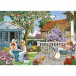 Puzzle  The-House-of-Puzzles-4791 XXL Pieces - Darley Collection - Ladies of Leisure