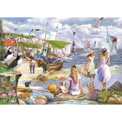 Puzzle The-House-of-Puzzles-4937 XXL Pieces - Sea Shore Breezes