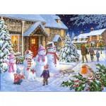 Puzzle   Snow Family