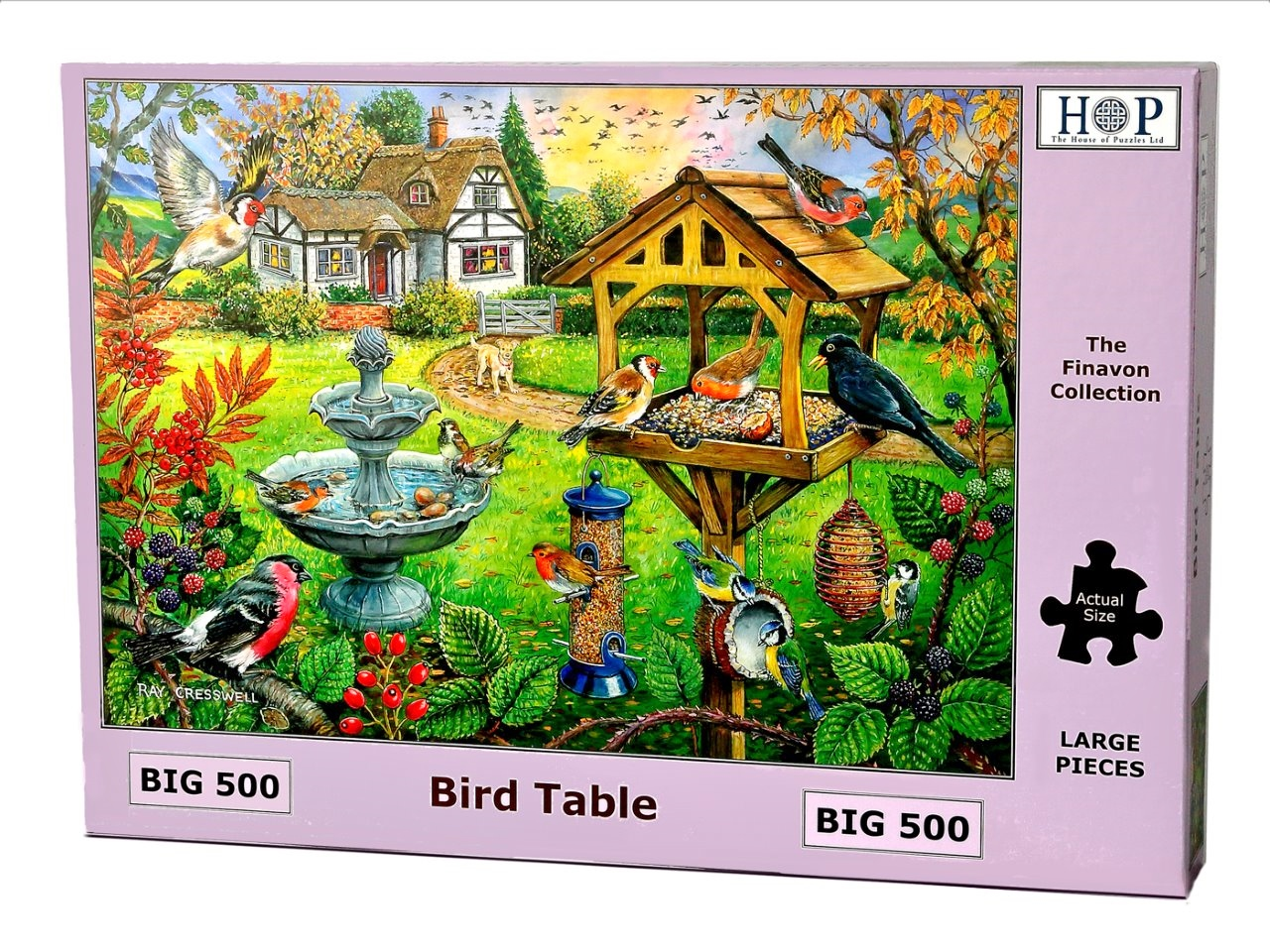 Puzzle Xxl Pieces Bird Table The House Of Puzzles 4333