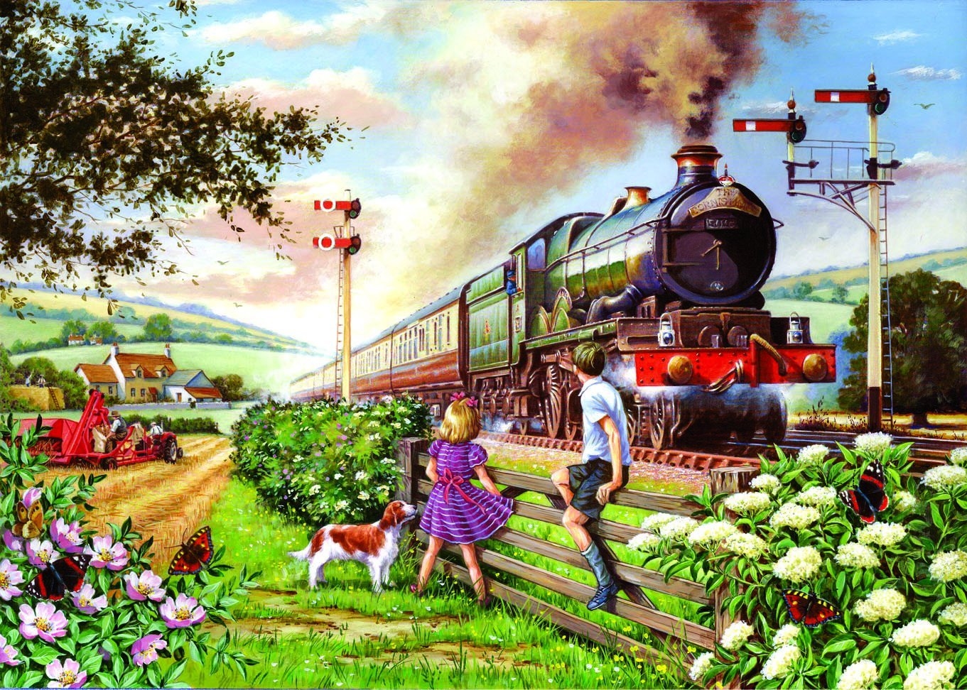 Puzzle Xxl Pieces Railway Children The House Of Puzzles