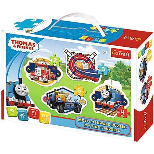 puzzle baby - thomas and friends trefl-36066 2 pieces jigsaw puzzles - comics