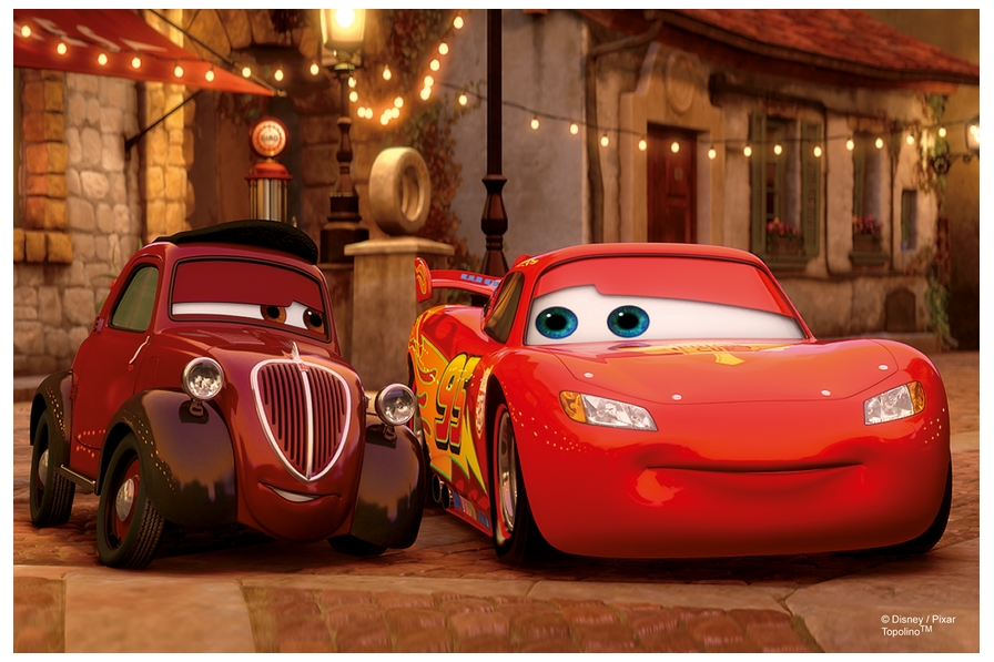 Cars 2 : Flash McQueen