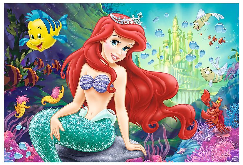 Color Puzzle Disney Princess Trefl 36513 40 Pieces