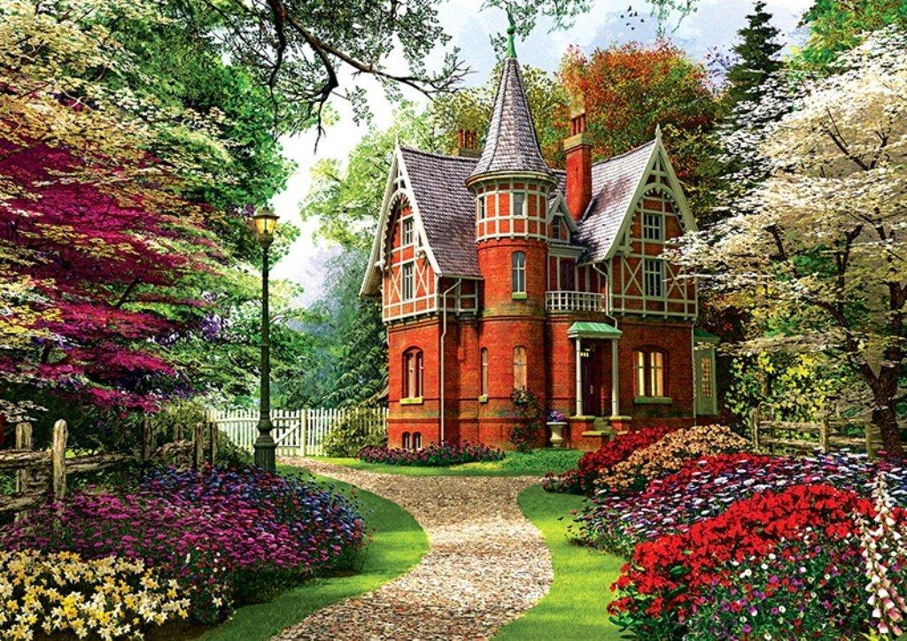 Dominic Davison: Victorian House 1000 piece jigsaw puzzle