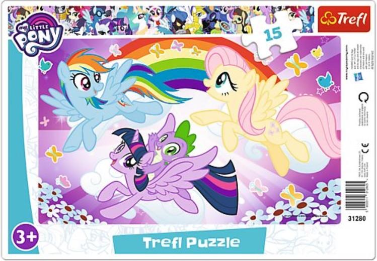 Frame Puzzle My Little Pony Trefl 31280 15 Pieces Jigsaw Puzzles