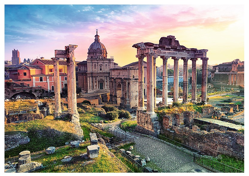5000 Piece Jumbo Forum Romanum Rome Jigsaw Puzzle