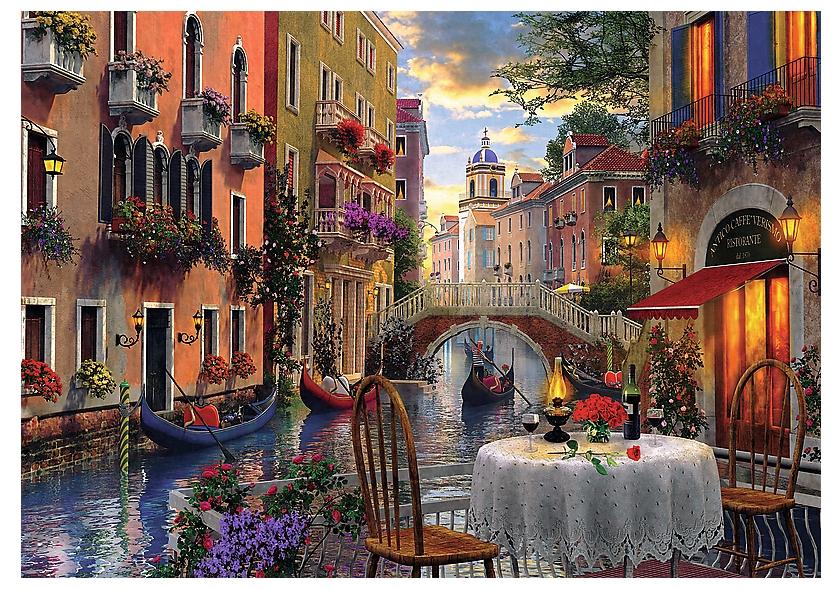 Romantic Venice 6000 piece jigsaw puzzle