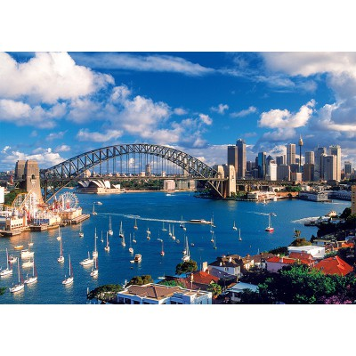 Trefl-10206 Jigsaw Puzzle - 1000 Pieces - Port Jackson, Sydney
