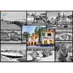 Puzzle  Trefl-10345 Poland, Sopot: Collages