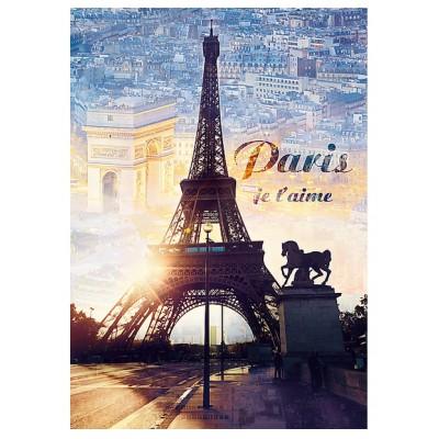 Puzzle Trefl-10394 Paris, I love you