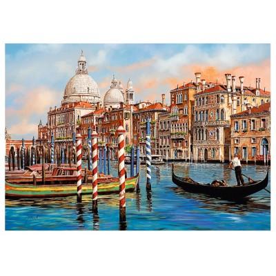 Puzzle Trefl-10460 Canal Grande, Venice