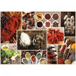 Puzzle  Trefl-10470 Collage - Spices