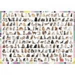 Puzzle  Trefl-10498 208 Cats