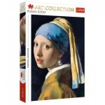 Puzzle  Trefl-10522 Johannes Vermeer - Girl with a Pearl Earring